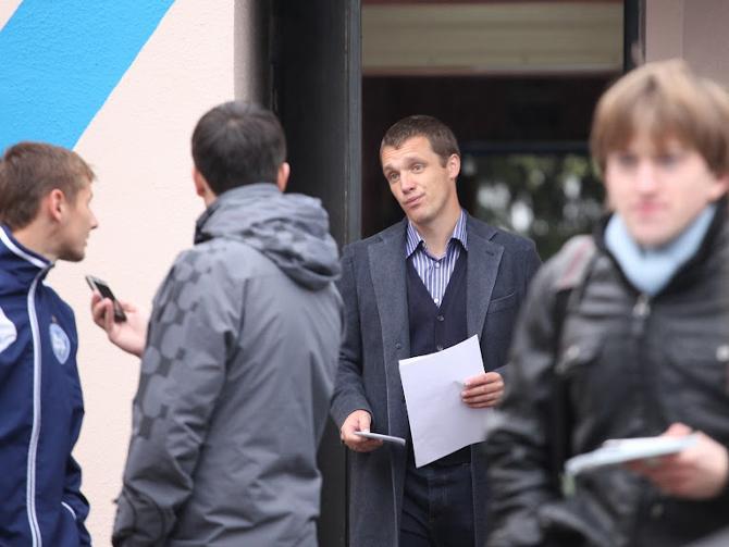 Виктор Гончаренко, кажется, не особо расстроился дележкой очков