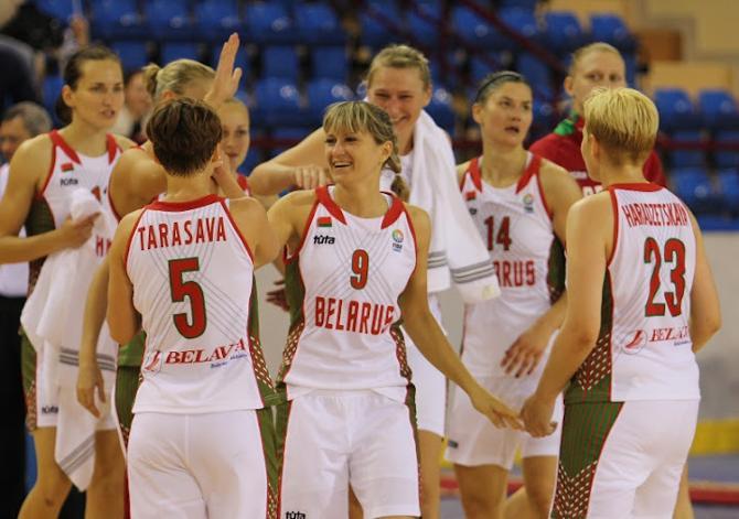 Надежно сыграв в защите, белоруски сумели добиться победы в стартовом матче евроотбора