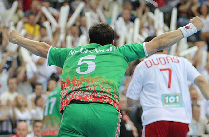 Благодаря победе над словаками, сборная Беларуси 18 лет спустя снова выступит на планетарном форуме