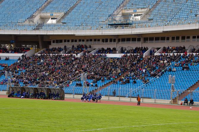 Цікава, які антураж чакае беларускую каманду ў матчы супраць Іспаніі