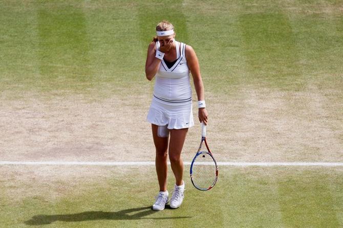 Виктория Азаренко оказалась вновь не готова к игре с Петрой Квитовой.