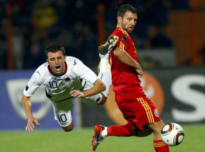 Наконец-то албанцы не пролетели в матче с Румынией.