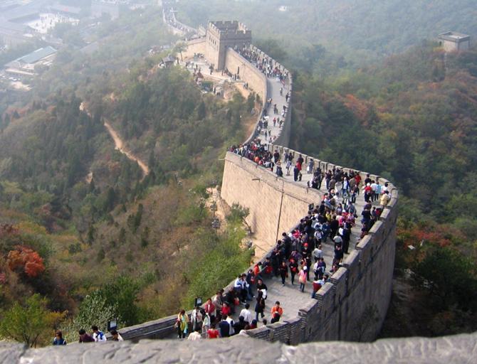 На Великую китайскую стену Александру Ковшику посмотреть не удалось.