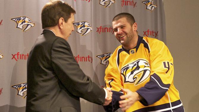 Александр Радулов вернулся в НХЛ. Надолго ли?