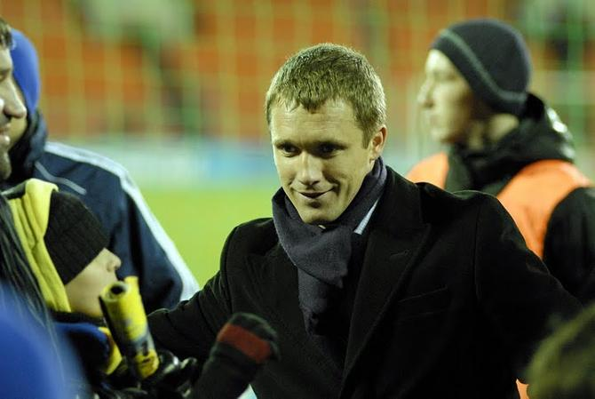 Виктор Гончаренко - человек футбольный, семейный и счастливый.