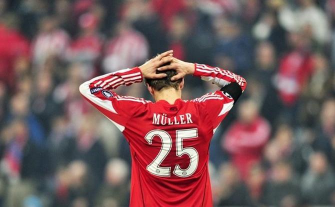 Томас Мюллер разочарован.
