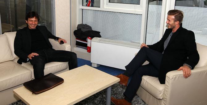 Бекхэм перебрался в один из самых богатейших клубов мира – «ПСЖ».