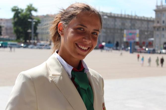 По мнению тренера, Ирина Помелова - одна из самых эффектных байдарочниц в мире.