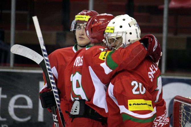 Несмотря на все старания, молодежная сборная Беларуси вновь не сумела выполнить поставленную задачу