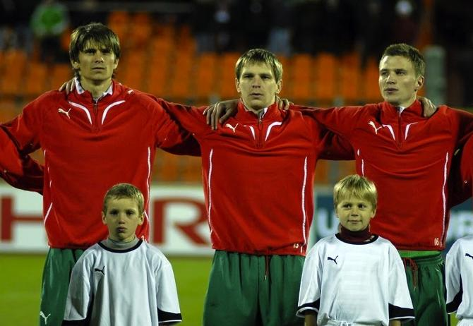 Александр Мартынович и Ян Тигорев стали основными игроками сборной лишь в этом отборочном цикле.