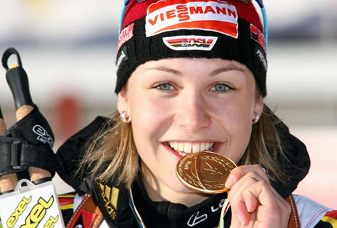 Магдалена Нойнер знает вкус золотых медалей.