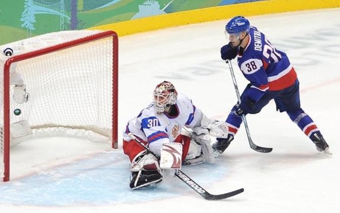 В составе сборной Словакии Павол Демитра был на Олимпиаде настоящим лидером.