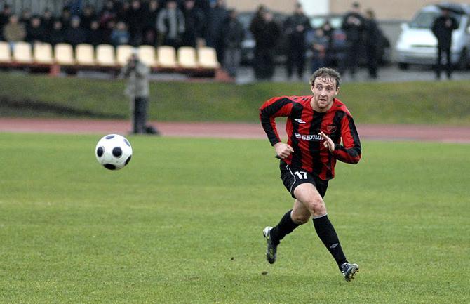 Игорь Лисица забил первый свой гол в чемпионате в 31-м туре.