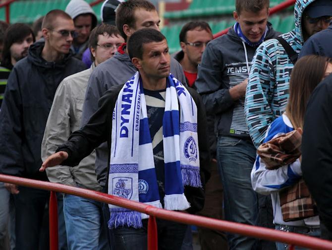 Появление Сергея Кисляка на матче