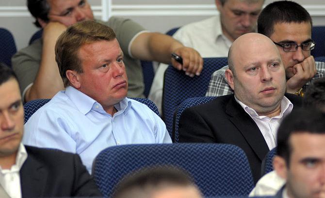 Игроки не очень удачно поздравили Андрея Гусова с его 42-м днем рождения