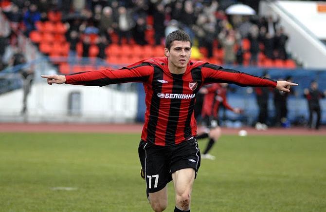 Александр Лебедев в 2010 году забил лишь одни гол, зато - в ворота БАТЭ.