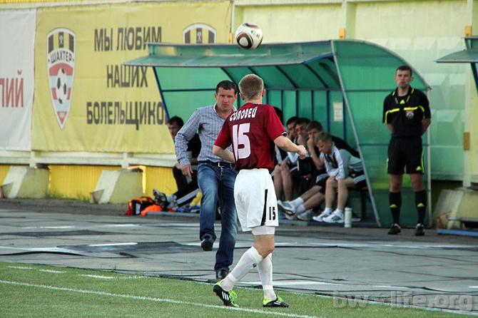Артем Соловей считает, что его команде изрядно не везет
