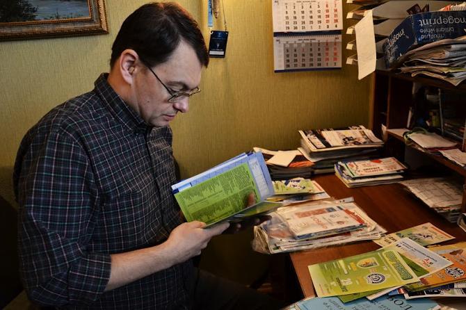 Егор Рогацевич считает, что лучшие программки в высшей лиге делает «Неман»