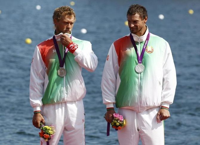 Серебряная медаль Олимпиады для белорусских гребцов - отличное завершение сезона.