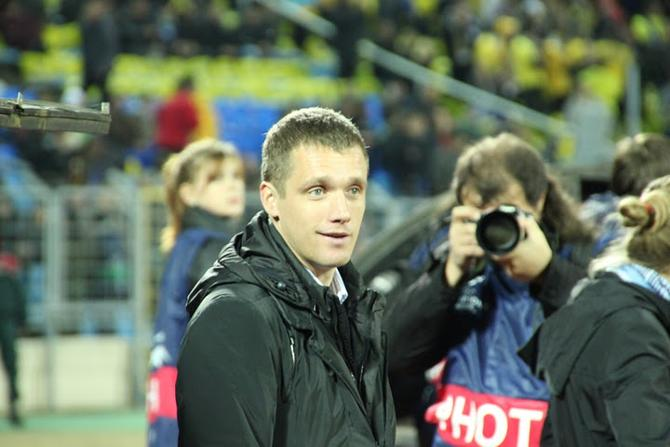 Виктор Гончаренко похвалил команду за матч против