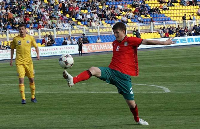 Станислав Драгун один из лидеров молодежной сборной.