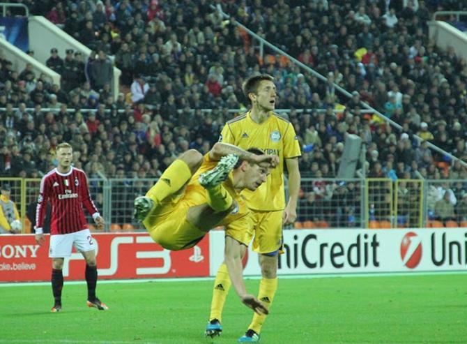 Марко Симич показал Ибрагимовичу, что и футболисты БАТЭ умеют делать фортели