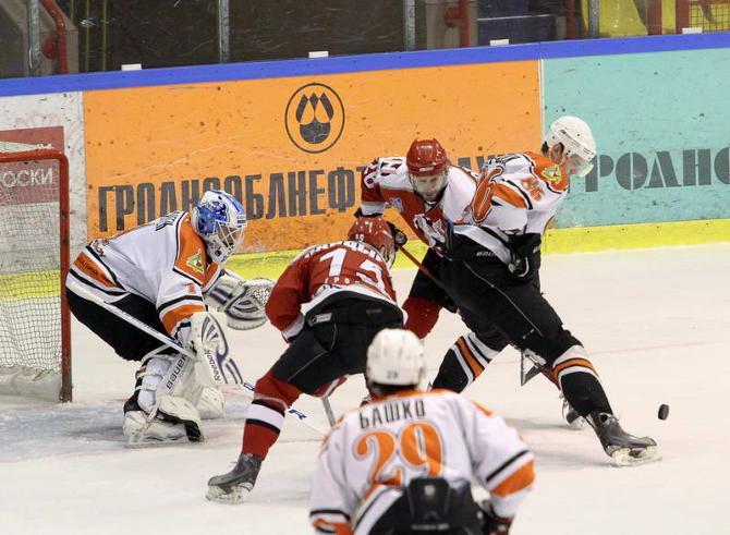 Ларс Хауген помог своей команде победить в Гродно, отразив 44 броска.