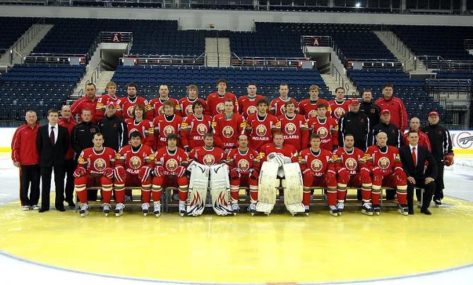 Белорусская сборная во всей красе