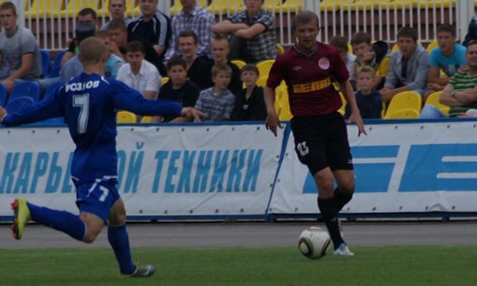 Евгений Капов в Жодино играл в центре полузащиты