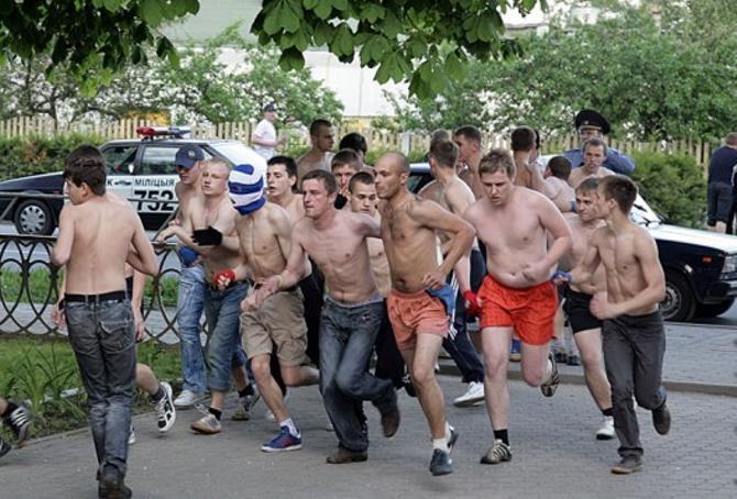 Вот эти ребята навели шороху в Слуцке