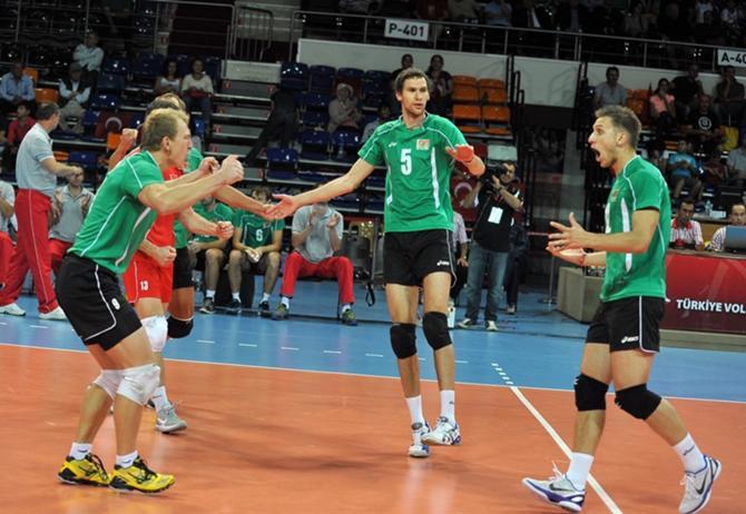 Белорусские волейболисты готовились к своему успеху 20 лет