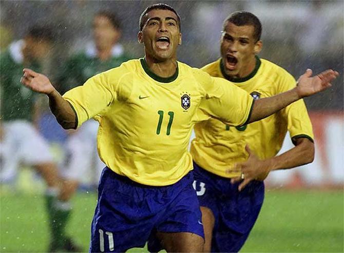 Ромарио сыграл только на одном чемпионате мира, но зато выиграл его.