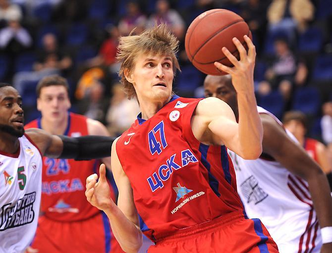 Андрей Кириленко – лучший баскетболист Европы 2012 года.