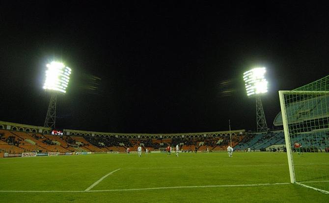 Матч Беларусь - Албания не вызвал зрительского интереса.