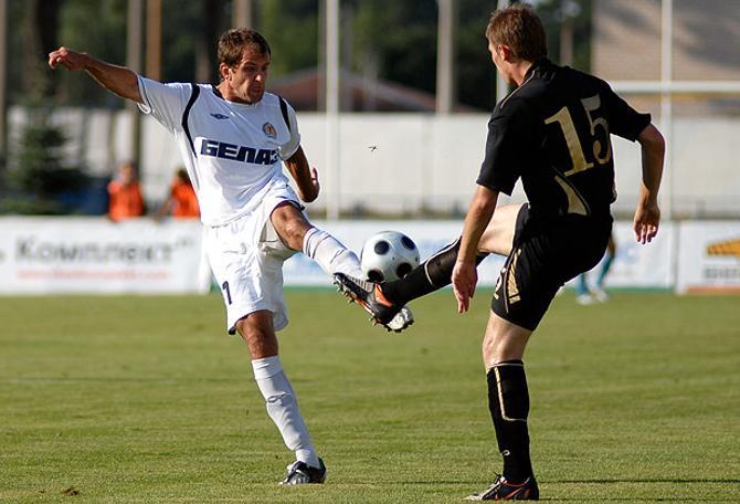 Забить еще один гол в Лиге Европы Игорю Кривобоку не удлалось.