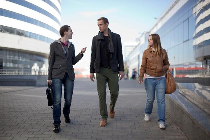 Пекка Ринне прогулялся в компании Goals.by вокруг «Минск-Арены», а в городе его можно встретить в кафе или ресторанах