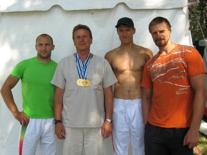 Владимир Шантарович и его чемпионы