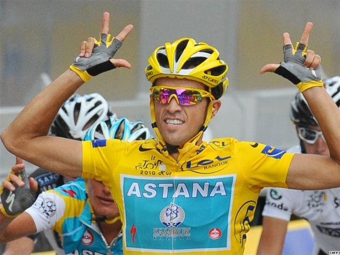 Альберто Контадор - главный претендент на победу в «Тур де Франс».