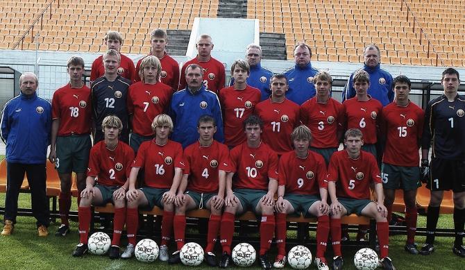 Юношеская сборная 1988 года рождения была одной из самых сильных в истории