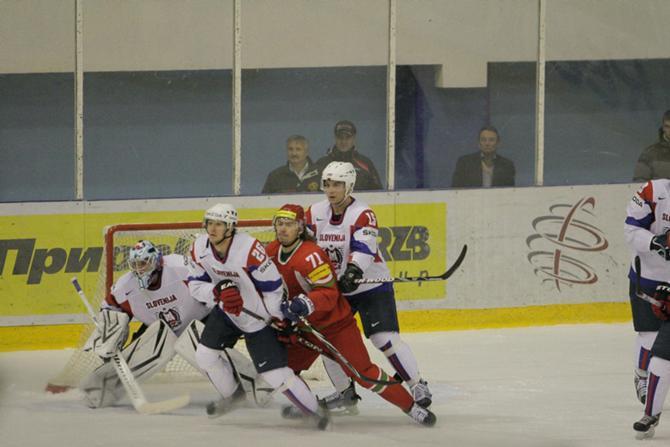 На чемпионате мира белорусы громили словенцев, а на Кубке Полесья все было наоборот.