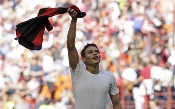 Тьягу Силва: новоиспеченный чемпион Италии ликует