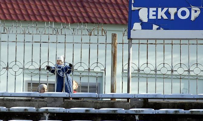 Белорусский футбол вызывает интерес у разных возрастных групп