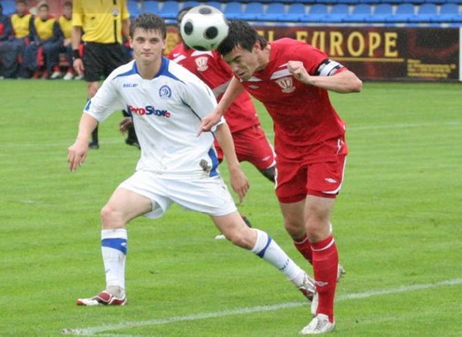 Станислав Драгун -- один из лидеров команды, который пока играет