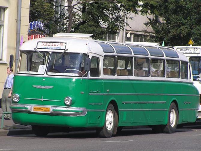 Возможно, Юрий Пудышев успел поколесить и на таком автобусе
