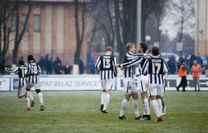 «Торпедо-БелАЗ» во второй раз за три последних сезона с упехом прошло через матчи на вылет