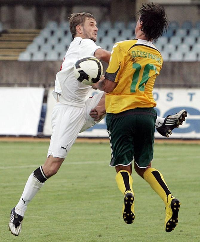 Дмитрий Молош играет каждые три дня.