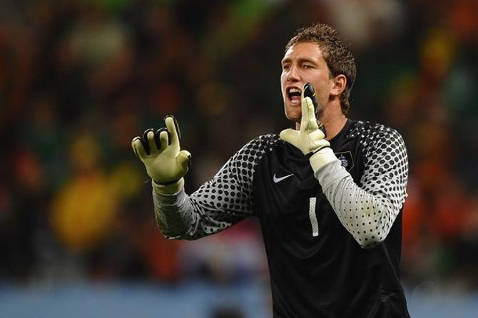 Мартен Стекеленбург, похоже, застолбил за собой место в воротах сборной Голландии надолго.