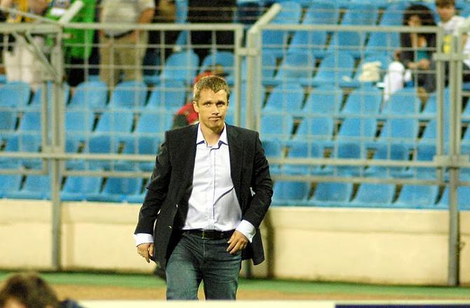 Виктор Гончаренко перед ответным матчем верит в свою команду.