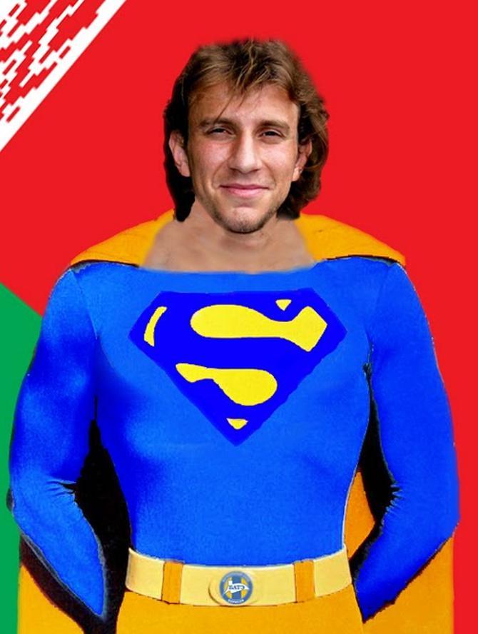 Ренан Брессан - белорусско-бразильский супермен.