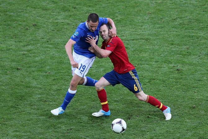 Испанцами в матче с итальянцами пришлось намного сложнее, чем ожидалось